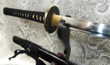Gold and Black Bamboo Katana
